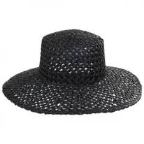Sunnydip Seagrass Straw Boater Hat