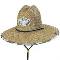 Cacti Straw Lifeguard Hat