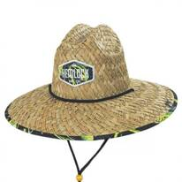 Mahi Mahi Straw Lifeguard Hat