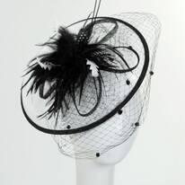 Velo Fascinator Hat