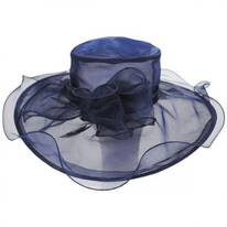 Annabelle Organza Boater Hat