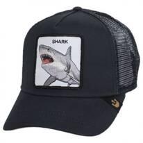 Shark Bite Trucker Snapback Baseball Cap