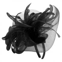 Ariel Feather Fascinator