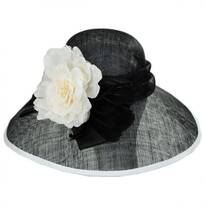 St. Clair Sinamay Straw Lampshade Hat
