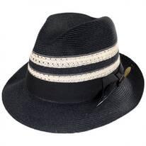 Highliner Hemp Straw Fedora Hat