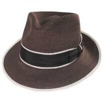 Gatsby Hemp Straw Fedora Hat