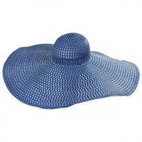 Shapeable 9.5 Inch Brim Swinger Hat