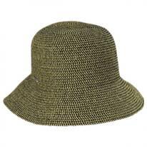 Gossamer Toyo Straw Blend Cloche Hat