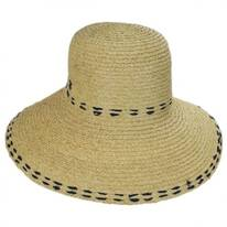 Belladonna Raffia Straw Sun Hat