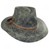 Hope Panama Straw Fedora Hat