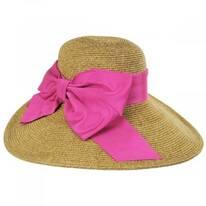 Side Bow Toyo Straw Sun Hat