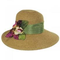 Orchid Toyo Straw Sun Hat