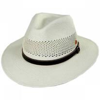 Pieter Grade 3 Panama Straw Fedora Hat