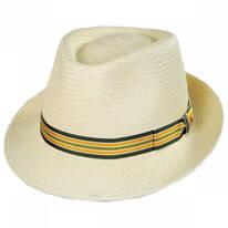 Henrik Grade 3 Panama Straw Fedora Hat