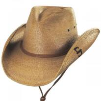 Contoy Palm Straw Western Hat