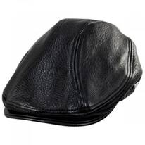 Moher Oily Timber Leather Ivy Cap