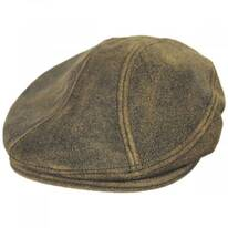 Antique 1900 Leather Ivy Cap