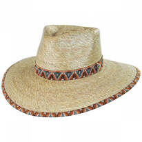 Joanna Palm Straw Fedora Hat