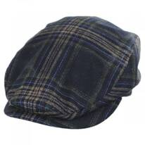 Frankie Plaid Silk Ivy Cap