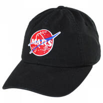 NASA Mars Strapback Baseball Cap Dad Hat