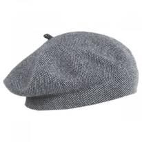 Tweed Barleycorn Wool Blend Beret