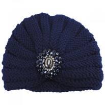 Desmond Brooch Knit Turban