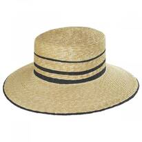 Nelina Straw Boater Hat