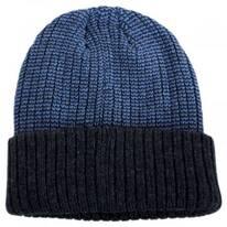 Scullie Knit 2Tone Cuff Beanie Hat
