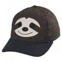 Kids Smiling Sloth Baseball Cap
