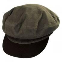 Two-Tone Cotton Fiddler Cap