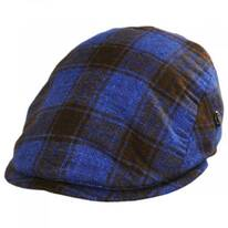 Tartan Wool and Cashmere Ivy Cap