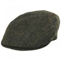 Donegal Tweed Herringbone Wool Ivy Cap
