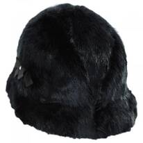 Suzette Faux Fur Cloche Hat