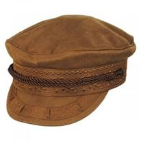 Albany Vegan Suede Greek Fisherman Cap