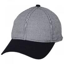 Houndstooth 9Twenty Strapback Baseball Cap Dad Hat