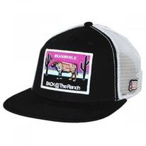 Meanwhile Snapback Trucker Baseball Cap