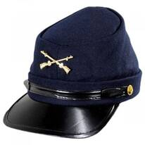 Kepi Wool Felt Civil War Cap