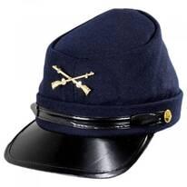 Kepi Wool Felt Civil War Cap
