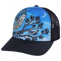 Child's Night Owl Trucker Snapback Baseball Cap