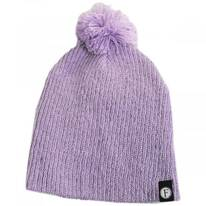 Kids Juliet Pom Cotton Blend Beanie Hat