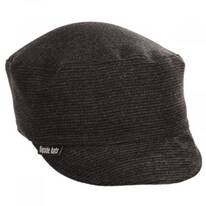 Benjamin Ribbed Wool Peacekeeper Cap