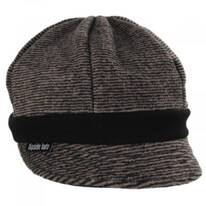Karen Pinstriped Fleece Weekender Cap