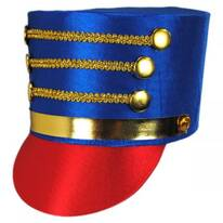 Satin Drum Major Hat