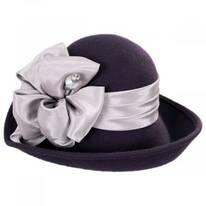 Roller Wool Felt Dip Brim Hat