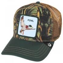 Fowl Trucker Snapback Baseball Cap