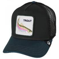 Trout Trucker Snapback Baseball Cap