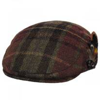 Mallalieus Side Feather Wool Ivy Cap
