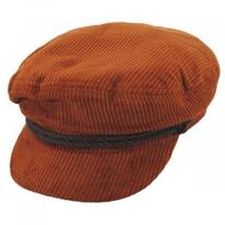 Corduroy Cotton Fiddler Cap