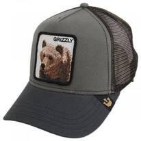 Grizzly Bear Trucker Snapback Baseball Cap