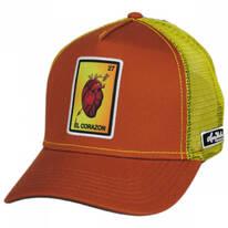 Loteria El Corazon Snapback Trucker Baseball Cap